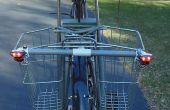 Fahrrad Richtungslichter - einfache, kostengünstige und Solar betriebene