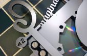 Coole Automaten/Faux Steampunk inspirierten CD-Hülle