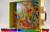 DIY-skurrilen Candy Serviertablett