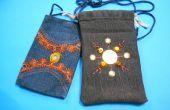 Lust auf Mobile Tasche aus alten Jeans