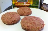 Leckere Hot Dog Burger