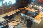"Meine aufgearbeiteten Materialien Bar ""The Treehouse Lounge"""