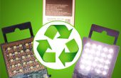 Machen Sie eine leistungsstarke wiederaufladbaren Taschenlampe aus eine verbrauchte Batterie (Erde Tag Teil II)