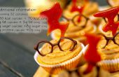 Birne und Karamell Cupcakes (32) - Harry Potter (GF)