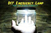 Ultrabright LED Notfall-Lampe (Akku)!