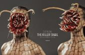 Killer Schnecke - Halloween SFX Make-up Tutorial