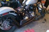 Gewusst wie: reparieren und neu lackieren Motorrad Auspuff