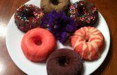 Schokolade getaucht Ice Cream Doughnuts