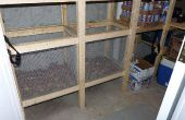 Gemüse-Behälter - Build Wire Mesh Gemüse Behälter im Kühlraum oder Wurzel celar