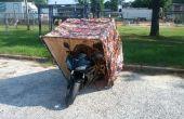 Motorrad-Garage Shell DIY
