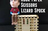 Rock Paper Scissors Eidechse Spock Schreibtisch Spielzeug