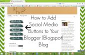 Wie Sie Social Media Buttons hinzufügen Sie Blogger (Blogspot) Blog