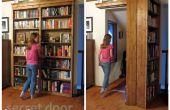 Geheimtür Bücherregal