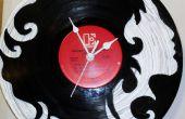 Wie erstelle ich eine Custom Vinyl Record Uhr