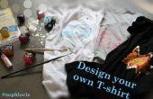 Entwerfen Sie Ihr eigenes T-shirt