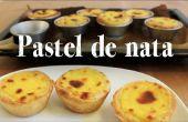 Pastel de Nata Rezept | Portugiesischer Pudding Gebäck Cup