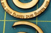 Machen A Spirale Holzanhänger