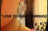 "Ohrringe ""Love To Read"""
