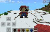 Mario-Minecraft-Pixel-Art