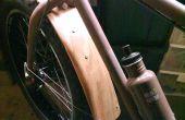Holzige Kotflügel für einen klassischen Vintage-Look