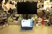 Platz sparende Monitorständer