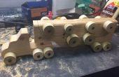Holz Spielzeug-Dumper *** aktualisiert mit Vorlage PDF ***