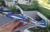Einfache Elektro Segelflugzeug