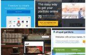 Wie Sie Ihre eigene Website zu machen? Top 25 besten Homepage-Baukästen