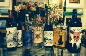 HALLOWEEN PARTY Flasche Etiketten