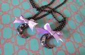 DIY-Glitter Moon Halskette