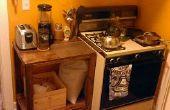 Gebäude mit Brüchen: Küche Dilemma
