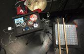 Laptopständer (und MIDI-Controller Ständer)