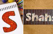 Wie zu machen und finalisieren personalisierte Namensschilder mit Bienenstock Paper Quilling