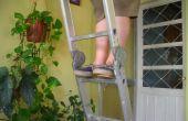 Improvisierte Leiter Clogs (Zuecos Para Escalera Improvisados)
