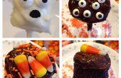 Gruselige Marshmallow Pops