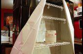 Hydrokultur-Setup auf Rädern