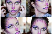 Cheshire cat inspiriert Make-up