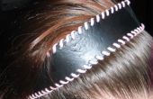 Machen Sie einen alten Gürtel in einem Stirnband - schnelle & einfach!