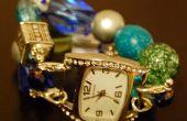 DIY Perlen Uhrenarmbänder