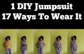 Wie man einen DIY-Overall, trage es 17 Ways | DIY-Kleidung für die Reise