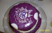 Funky Polka-Dot-Geburtstags-Kuchen
