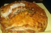Hausgemachte vegetarische Lasagne Rezept in Philips Airfryer