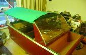 Bau eines Bootes für Mij Söhnlein