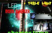 LED Bookmarker + Tischleuchte (mit Helligkeitsregelung)
