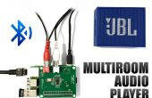 3 audio-Playern in 1 Raspberry Pi mit Bluetooth - einfach Multiroom HiFi-Setup