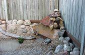 Wasserfall in Ihrem Garten zu schaffen