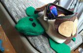 Wie erstelle ich eine Schildkröte Bleistift Tasche!!!