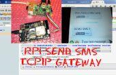 SEND SMS TCPIP GATEWAY - PHP, PYTHON und MySQL mit RPI und ein GSM-Schild