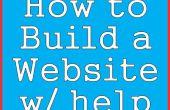 Wie baut man eine Website