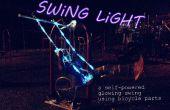 Swing Light: ein Fahrrad powered leuchtenden Schaukel